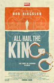 Super-héros : Univers cinématographique Marvel / MCU   cover film Marvel One-Shot: All Hail the King