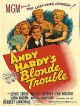 wallpaper for Andy Hardy's Blonde Trouble