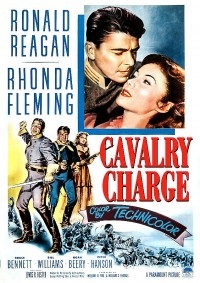 Poster Cavalry Charge (titre de re-sortie) 530811